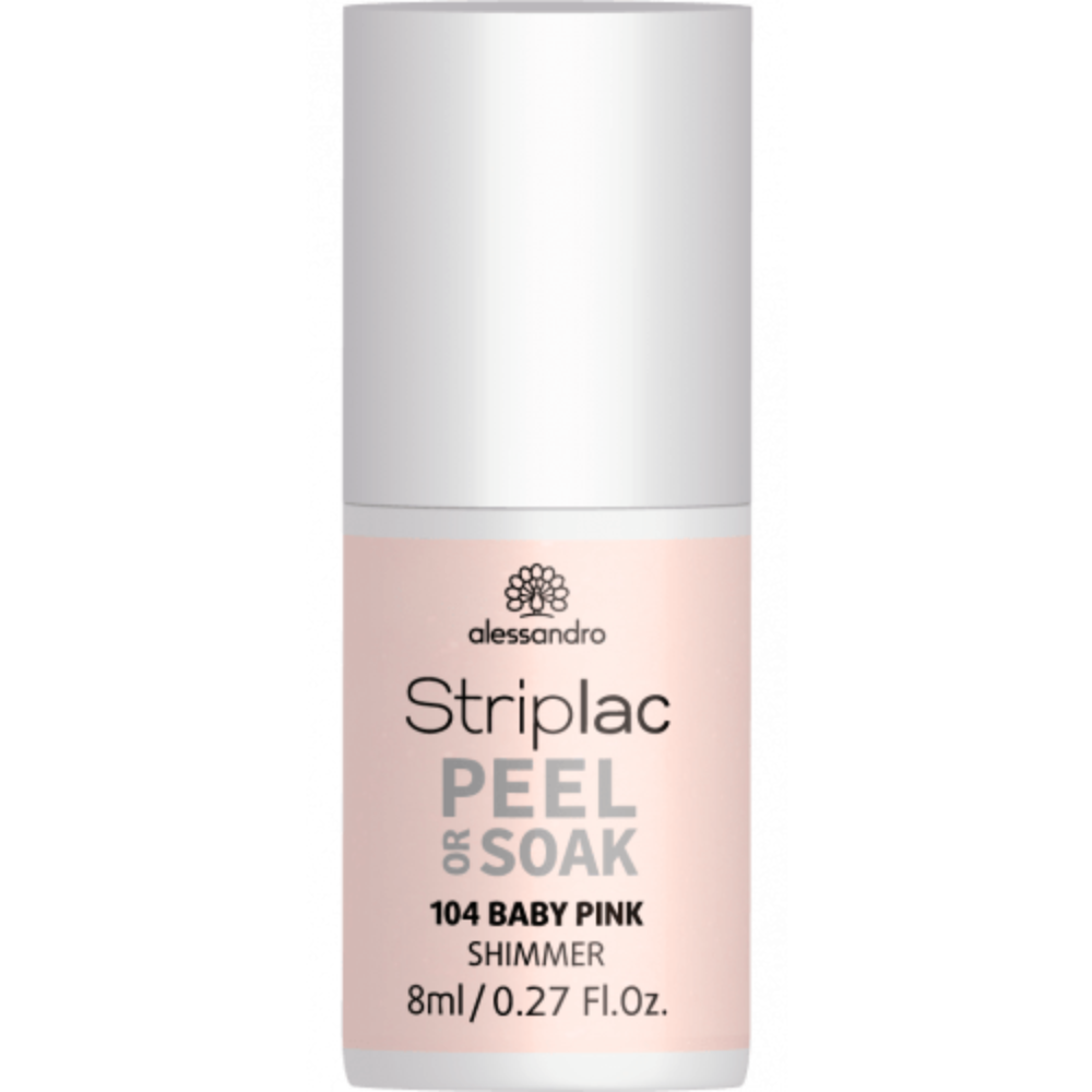 Striplac Peel or Soak Baby Pink 8ml