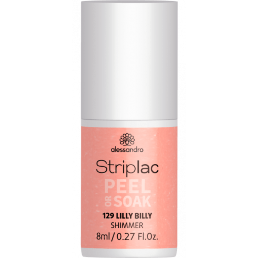 Striplac Peel or Soak Lilly Billy 8ml