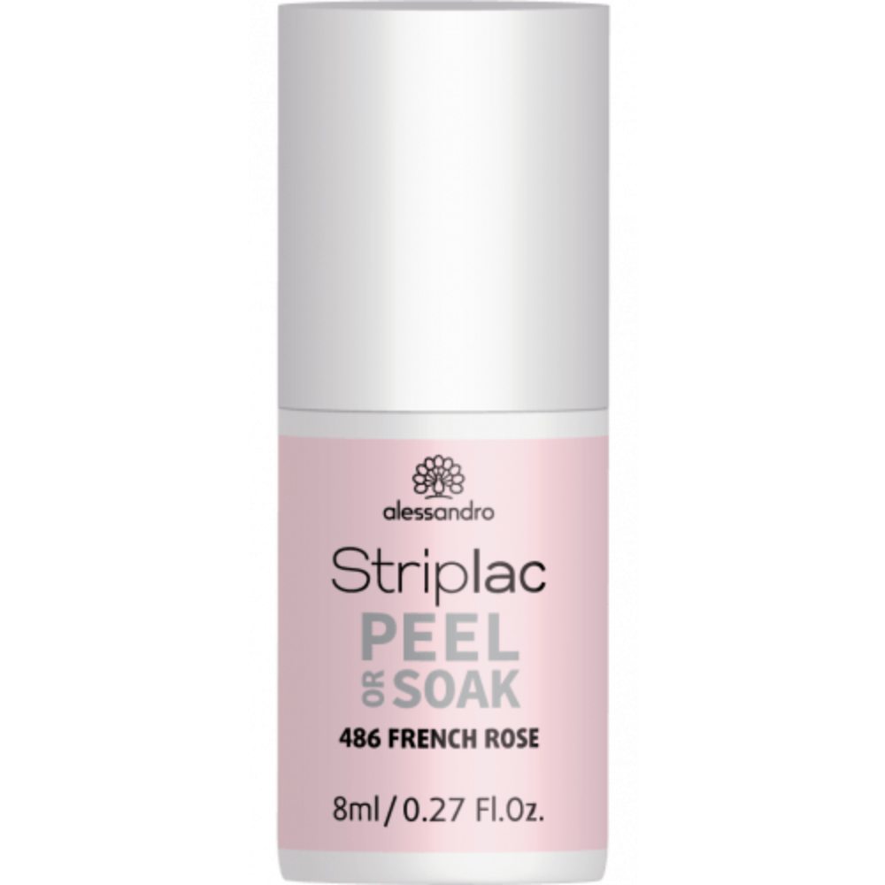 Striplac Peel or Soak French Rosé 5ml